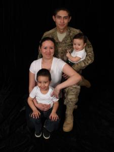 Yesenia Zavala - SGT Zavala & our lil' family! from Ft. Carson, CO