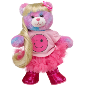 Pink Smiles Furever Hearts Bear