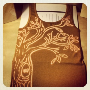 bleach pen tank top