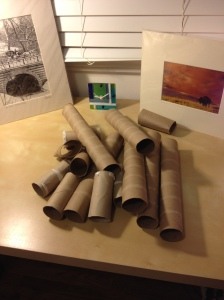 supplies for recycled wall art