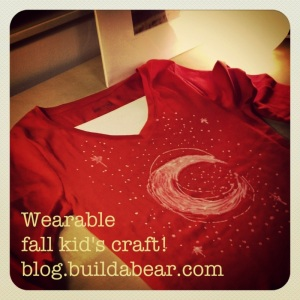 Wearable fall kid's craft post image