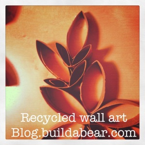 Recycled Wall Art the entire family can make