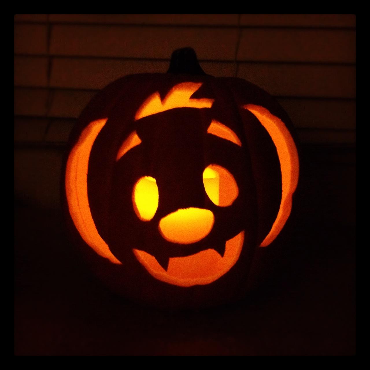 Simple Vampire Pumpkin...