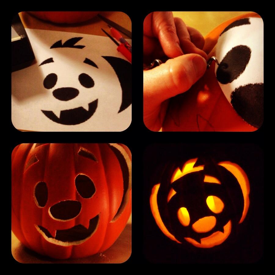 Kooky spooky pumpkin carving stencils |