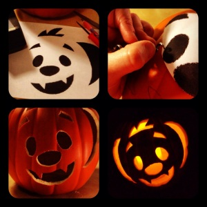 how to carve a pumpkin or jack-o-lantern