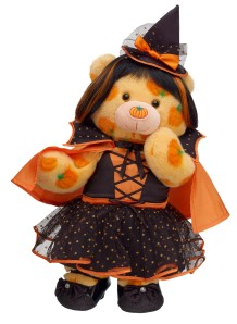 Pumpkin Pal Teddy Witch