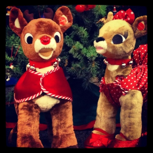Rudolph and Clarice, holiday classics to bring back the magic from Build-A-Bear Workshop
