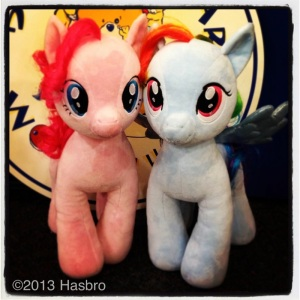 PINKIE PIE and RAINBOW DASH are ready to make new friends, are you?